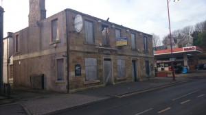 The former Crown Hotel