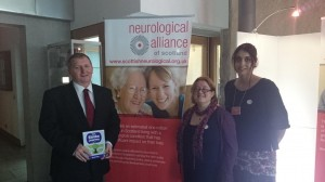 Meeting with representatives of the neurolgical alliance of Scotland