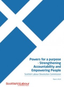 Scottish Labour Devolution Commission report - draft (FINAL)