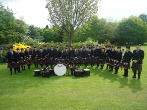 Kelty and Blairadam Pipe Band
