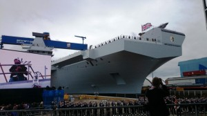 Naming Ceremony HMS Queen Elizabeth