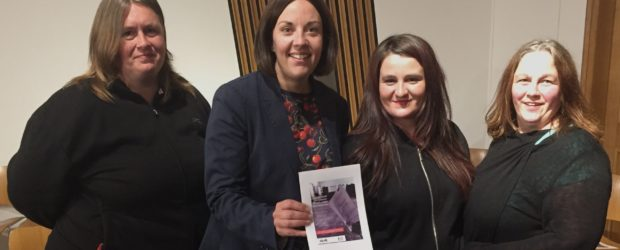 """Three West Fife women performed a """"thought-provoking and provocative"""" social piece about life in Inverkeithing's Fraser Avenue at the Scottish Parliament on Wednesday night and met with Scottish Labour leaderkezia […]"""