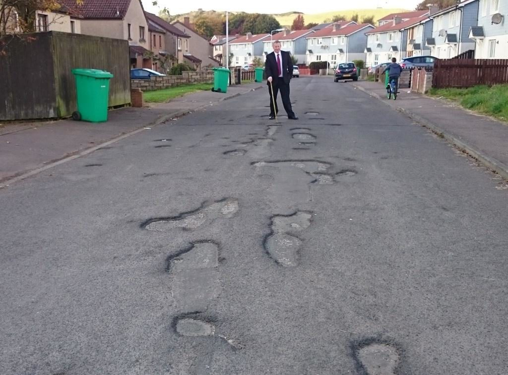 Is this the worst road in Fife?
