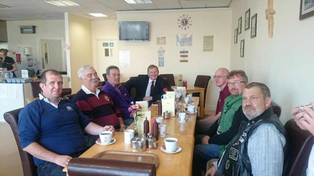 Drop in for a catch up at Lochore