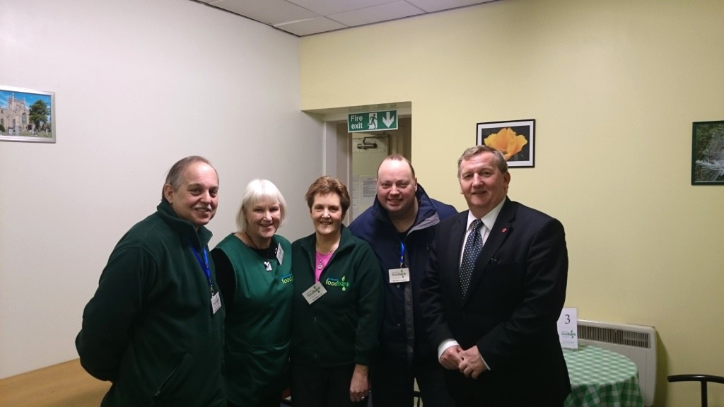 Cowdenebath Food Bank Volunteers thanked for their work