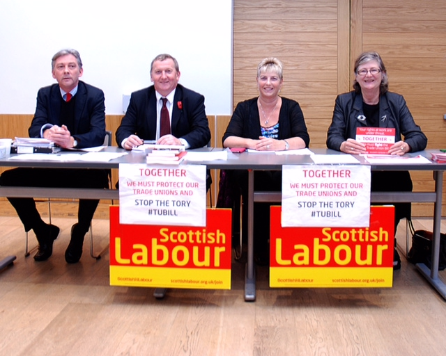 Labour members are campaigning all over Scotland to Kill the Bill