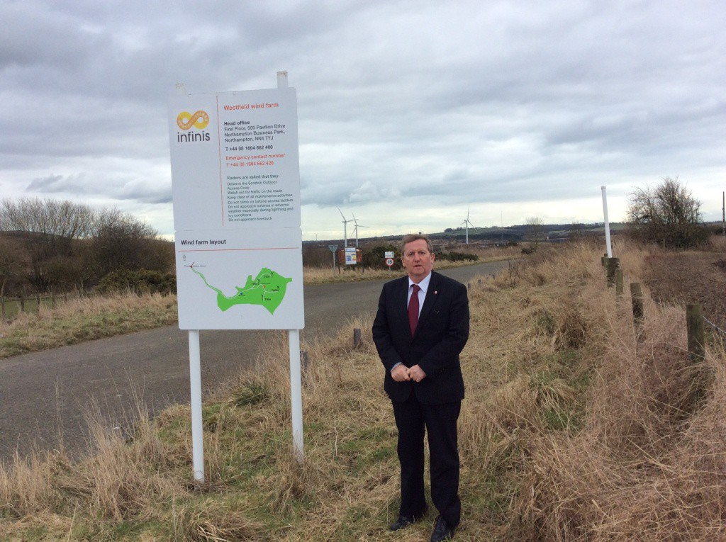 @ Westfield - Alex Rowley hopes local people will get involved
