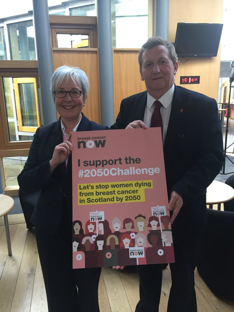 Alex Rowley MSP Campaign Cancer