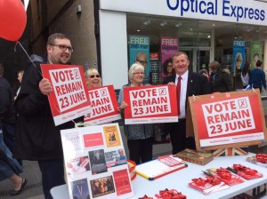 Campaigning in Perth