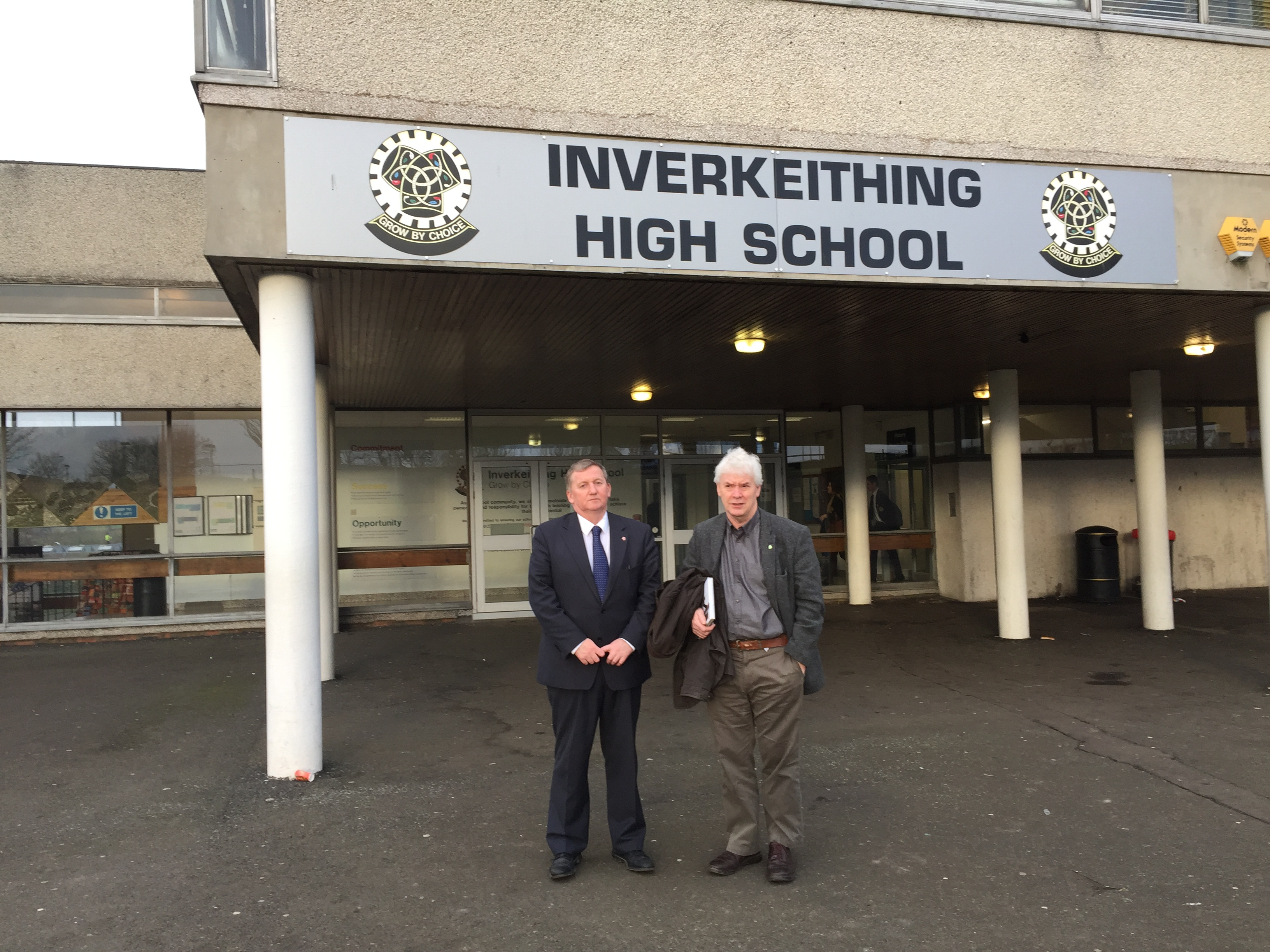 Inverkeithing with Bryan