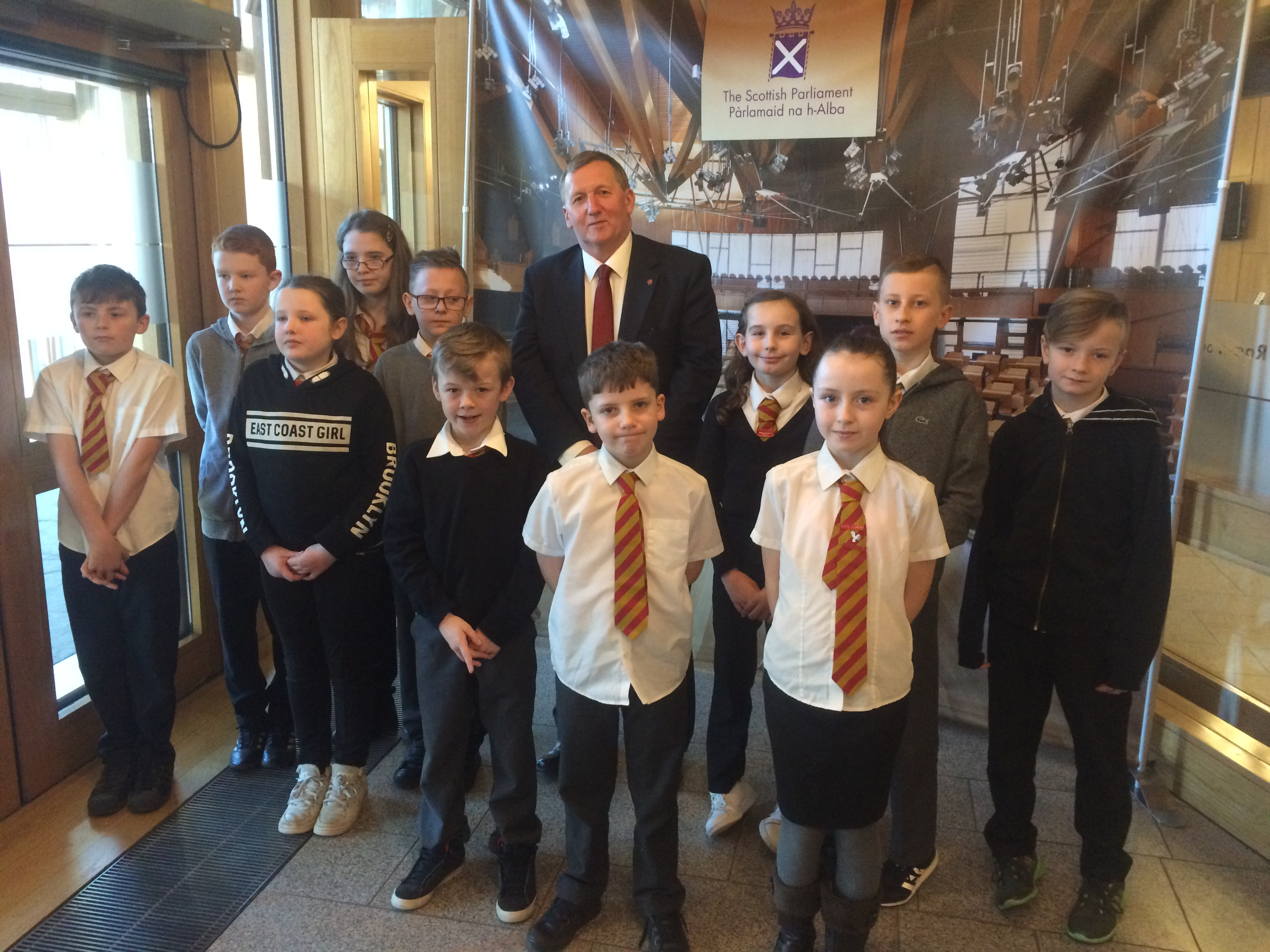St Kenneths Parliament visit