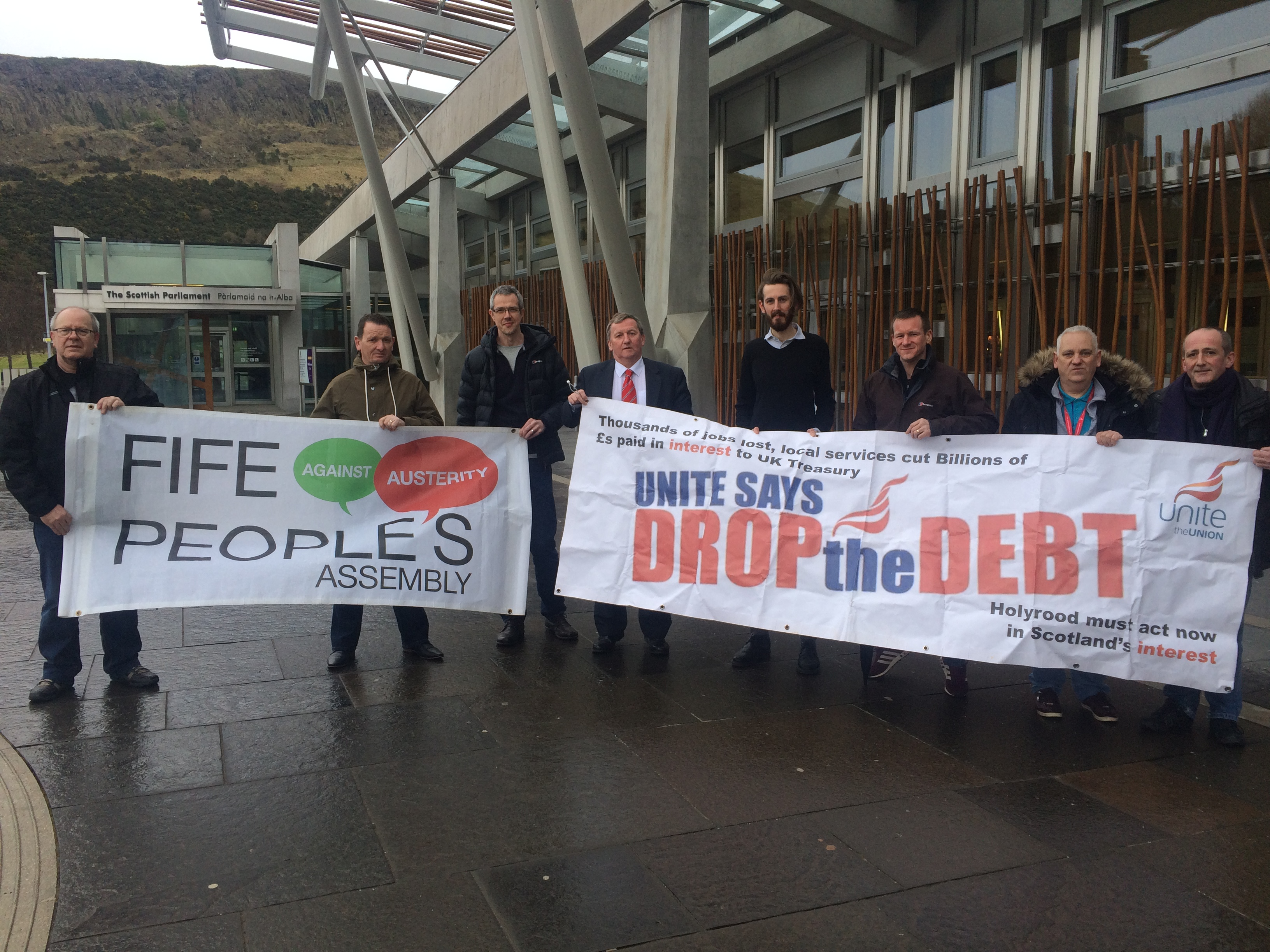 Debt Amnesty Campaigners