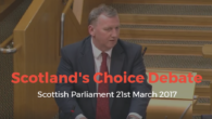 This week I spoke in the debate in Parliament on Scotland's Choice over a second independence referendum. I wanted to emphasise the point that we can have a discussion in […]