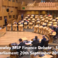 "I opened a Scottish Labour Party debate in the Scottish Parliament on fiance. I moved a motion in my name stating: ""That the Parliament believes that income tax should […]"
