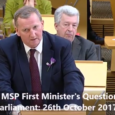 This week at FMQs I questioned the First Minister on the release of a new Audit Scotland report on the state of Scotland's health service. This report raises massive […]